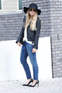 Levis-jeans-helene-berman-hat-zara-jacket-chanel-purse