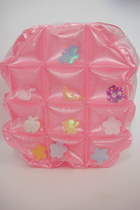 Vintage 90s Super Kawaii Pastel Inflatable Mini Backpack - Pink