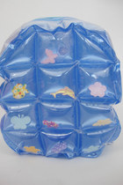 Vintage 90s Super Kawaii Pastel Inflatable Mini Backpack - Blue