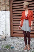 vintage blouse - Mango blouse - hnm leggings - Forever 21 shoes