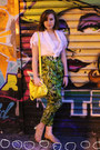 Vintage-top-tj-maxx-bag-forever-21-sandals-forever-21-pants