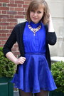 Blue-h-m-skirt-black-prabal-gurung-for-target-shoes-black-h-m-cardigan