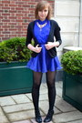 Black-prabal-gurung-for-target-shoes-black-h-m-cardigan-blue-h-m-skirt