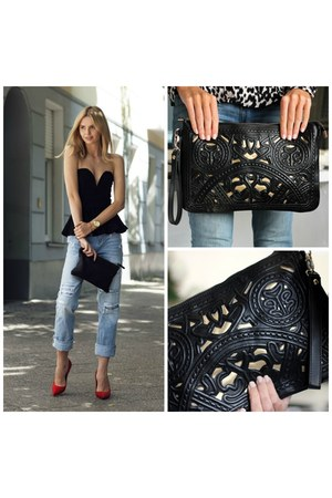 black clutch Trendabelle bag