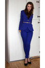 Blue-reserved-jacket-blue-reserved-pants-navy-zara-heels