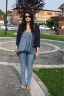 Sky-blue-h-m-jeans-ruby-red-ray-ban-sunglasses-sky-blue-top-navy-cardigan-