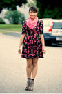 Joyce-leslie-dress-random-brand-scarf-forever-21-shoes