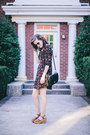 Black-printed-forever-21-dress-black-vintage-coach-purse