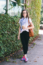 Black-madewell-jeans-blue-printed-old-navy-scarf-tawny-tote-madewell-bag