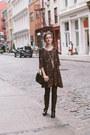 Crimson-knee-high-ariat-boots-black-paisley-forever-21-dress