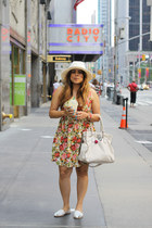 Forever 21 dress - UO hat - Michael Kors bag - UO sandals