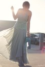 Sky-blue-maxi-asos-skirt-aquamarine-crochet-forever-21-top-black-floral-fore