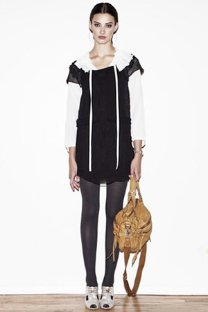 Sonia by Sonia Rykiel blouse - vanessa bruno athe dress - Rachel Comey shoes - V