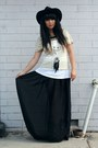 Black-vintage-hat-black-diy-shirt-white-supre-top-beige-sass-bide-t-shirt-