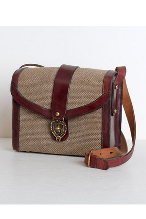 brown Vintage Etienne Aigner bag