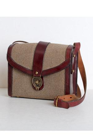 brown Vintage Etienne Aigner bag