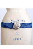 Blue-vintage-belt