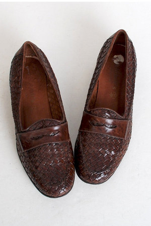 vintage loafers