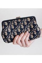Blue-vintage-christian-dior-purse
