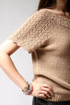 Beige Carly Blake Tops