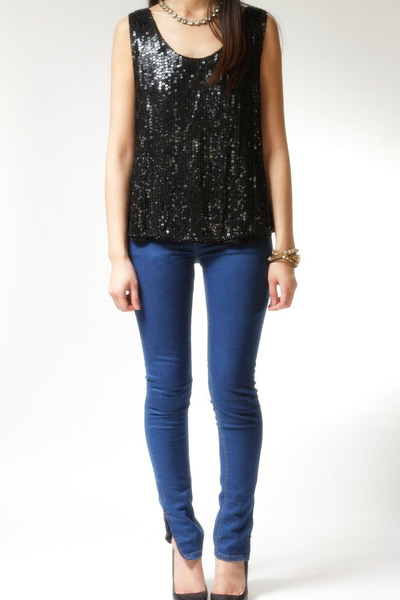 Shimmer New York top