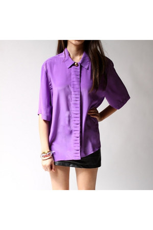 amethyst Hastin & Smith blouse