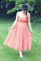 salmon free people dress