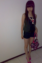 Mango jeans - Dorothy Perkins vest - Zara shoes - Guess purse