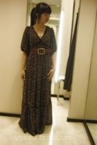 Zara dress - Body&Soul belt
