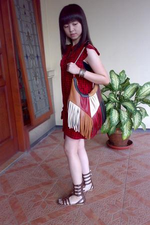Zara Trf dress - shoes - Zara purse