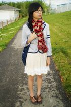 Aldo belt - from japan dress - winners scarf - Spring shoes