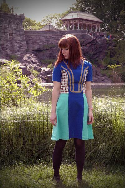 color block Manic Pop dress