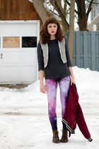 galaxy romwe leggings