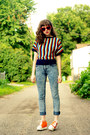 Cheap-monday-jeans-striped-deadstock-vintage-shirt