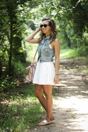 white American Eagle dress