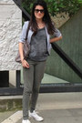 Silver-dani-jacket-heather-gray-campagnolo-bag-dark-green-scout-pants