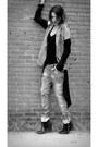 Unknown-cardigan-denim-bershka-jeans-denim-eleven-paris-hoodie-h-m-top