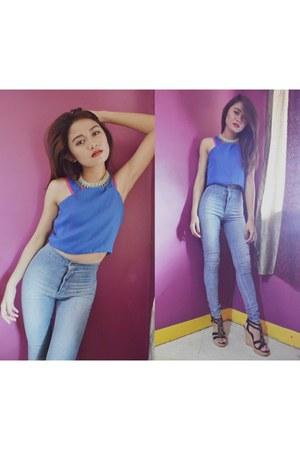 light blue next jeans