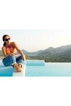 desigual jeans - Ray Ban sunglasses - Yamamay swimwear