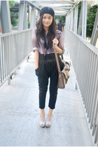 light purple sheer 11th of October blouse