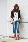 Aldo-boots-american-eagle-jeans-forever-21-jacket-madewell-cardigan