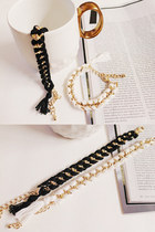 MQ MODERN GOLD BRAIDED BRACELET