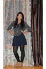 Lace-up-oxfords-boots-dress-dark-denim-bdg-shirt-necklace