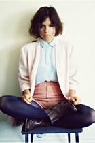 thrifted vintage blazer - H&M shorts