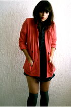 Primark blazer - H&M stockings - Primark shirt