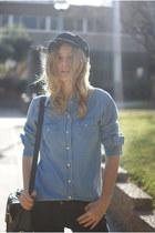 Topshop jeans - Choies hat - Topman blouse