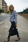 Sfera-jeans-topshop-blouse-nine-west-heels