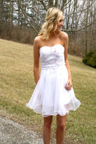 white dress dress