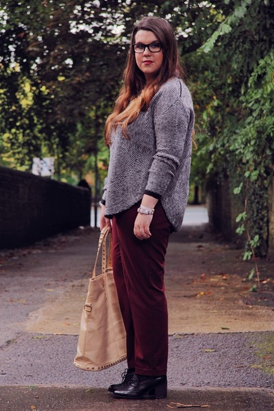 next pants - Clarks shoes - OASAP bag - Vero Moda jumper