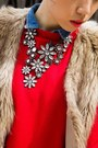 State-of-georgia-boots-accessorize-bag-fur-forever-21-vest